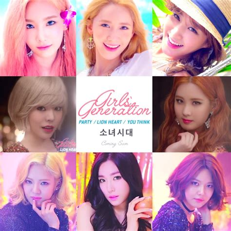 girls generation continue to party with individual