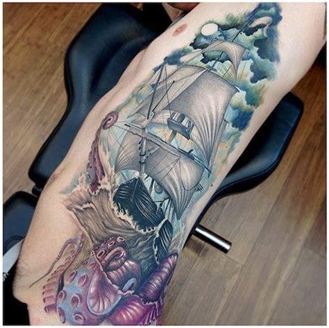 tattoo espana manila 10 beautiful and meaningful sailing ship tattoos tattoodo