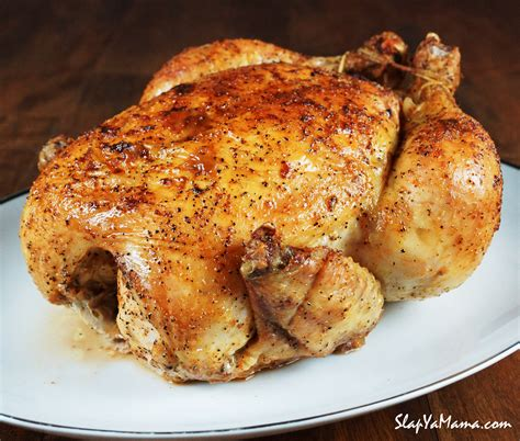 roasted whole chicken slap ya mama s whole baked chicken slap ya mama