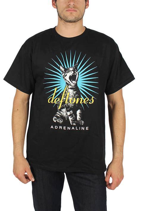 T Shirt Deftones Black Pafd deftones adrenaline cat mens t shirt in black