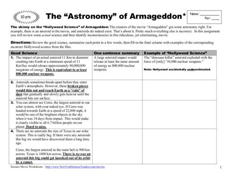 Astronomy Worksheets by High School Astronomy Worksheets Pics About Space