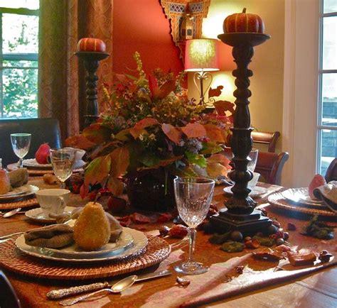 Fall Table Settings Fall Table Setting