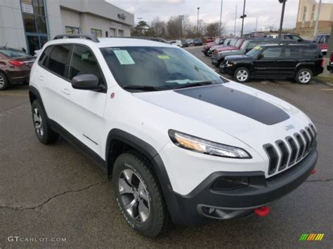 jeep trailhawk white bright white 2014 jeep trailhawk 4x4 exterior