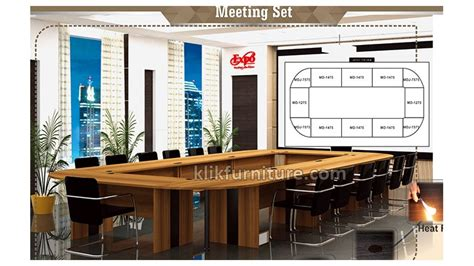 Meja Tv Expo meja meeting set expo md series 1 promo diskon