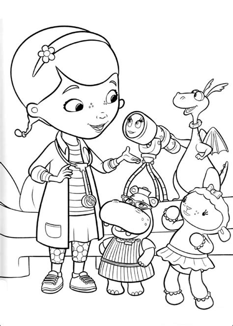 doc mcstuffins giant coloring pages doc mcstuffins coloring pages best coloring pages for kids