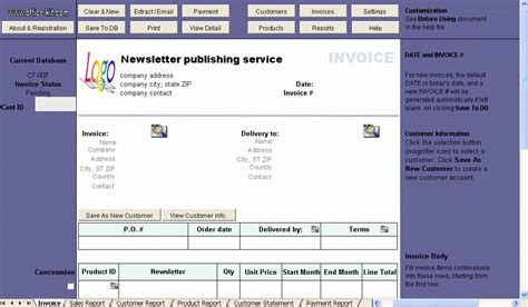 publisher invoice template publisher invoice template free business template