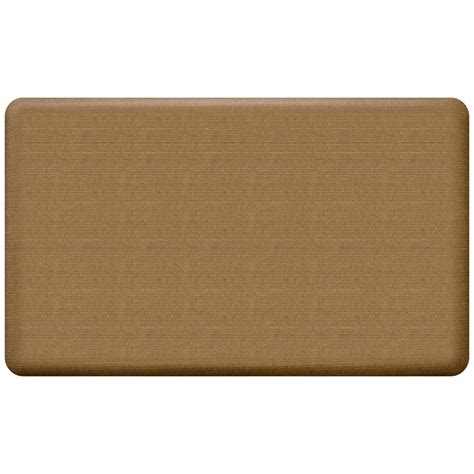 newlife comfort mat newlife designer grasscloth khaki 18 in x 30 in anti