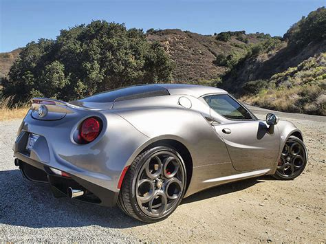 Alfa Romeo Sports Car by 2015 Alfa Romeo 4c Sports Car Spin Autobytel