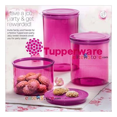 Tupperware Jolly Keeper 1 7 L qoo10 snowflake kitchen dining
