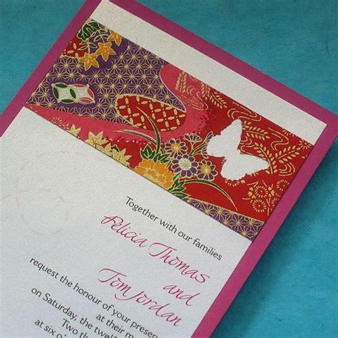 origami inspired wedding invitations 17 images about japanese style wedding on japanese wedding dresses wedding