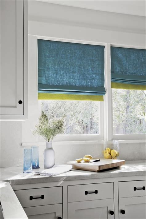smith and noble smith and noble color block fabric shades