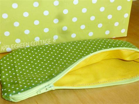 free sewing pattern zippered pouch free pdf printable template my polka dot zipper pouch