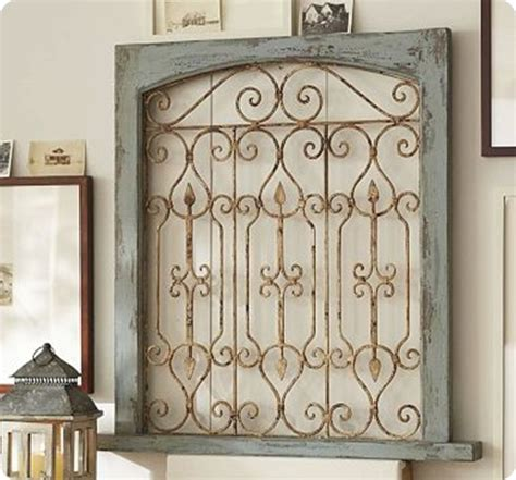 Garden Gate Wall Decor Wall Ideas Design Dish Functional Metal Gate Wall Donot Fence Creative Ises