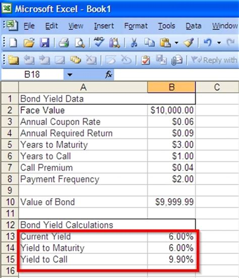 How To Calculate Bond Yield In Excel 7 Steps With Pictures Yield To Maturity Excel Template