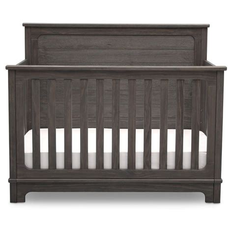 Rustic Convertible Crib Simmons Slumbertime Monterey 4 In 1 Convertible Crib Rustic Grey Convertible Crib