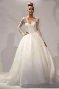 lace sleeve wedding dresses 30 gorgeous lace sleeve wedding dresses