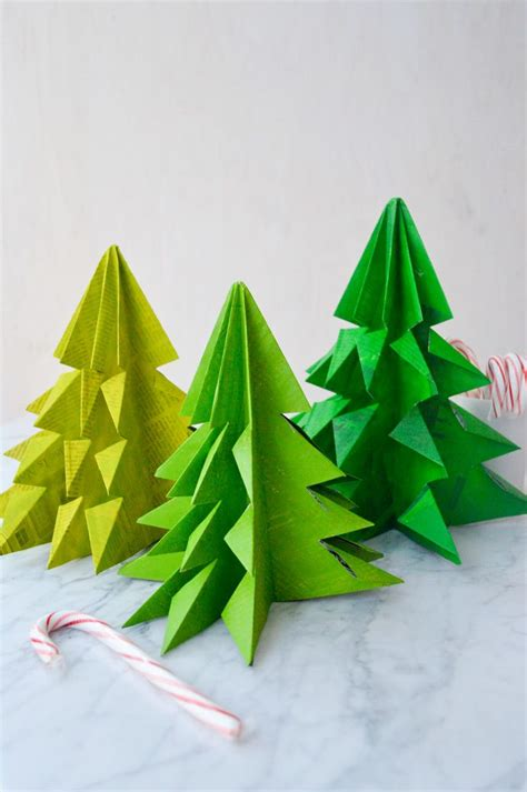 Origami Tree Decorations - tree decoration ideas the xerxes