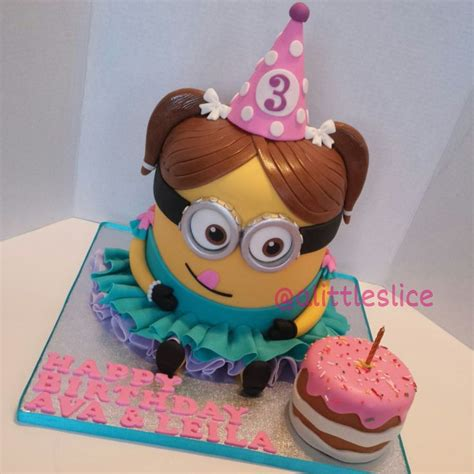 3d Cake by Minion 3d Cake 3d Minion Cake Made By