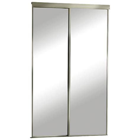 60x80 door installation quot quot mirrored sliding door 60 quot x 80 1 2 quot rona