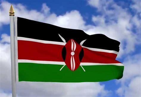 kenya flag colors kenya flag its meaning colors designer and symbolism of
