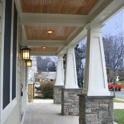 beadboard ceilings on porch bead board front gable