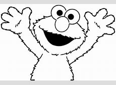 Elmo coloring pages to download and print for free Elmo Face Coloring Page