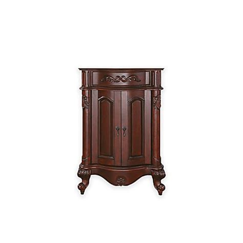 shop avanity provence 24 in x 33 in antique cherry buy avanity provence 24 inch vanity cabinet in antique
