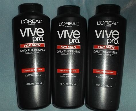 buy l oreal vive pro for daily thickening shoo pack of 2 at low prices in 3 bottles loreal vive pro for daily thickening shoo shoo conditioning