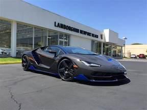 Lamborghini In Usa Lamborghini Centenario Arrives In The United States