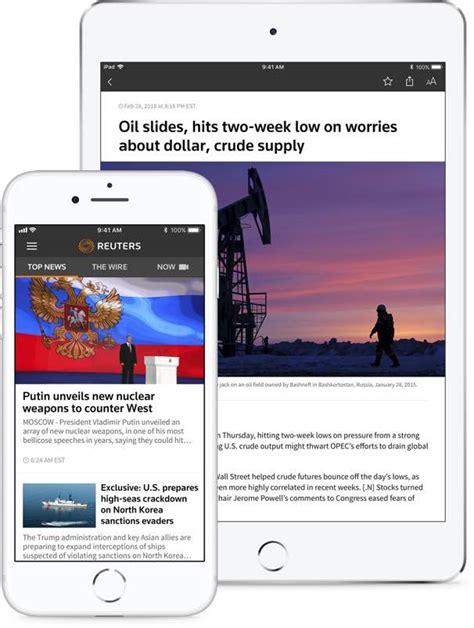 reuters news mobile reuters apps