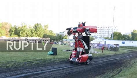 film anak mobil ayah anak sulap mobil sedan jadi robot transformers