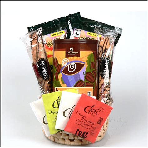 gift for coffee cheap gift basket gourmet organic coffee chocolate and