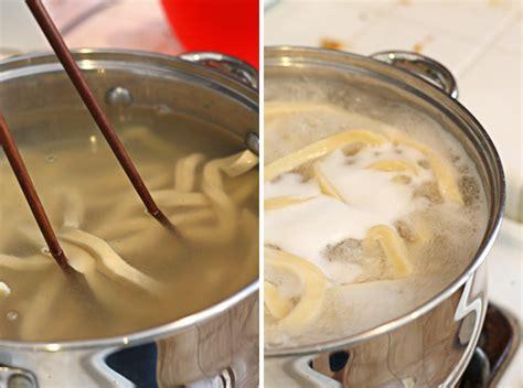 Handmade Udon Noodles - handmade udon noodles recipe dishmaps
