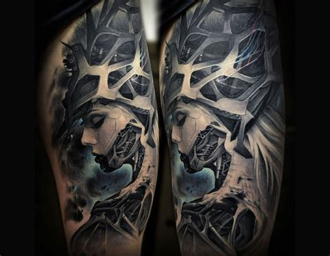 tattoos biomechanical designs 10 expert biomechanical artists scene360