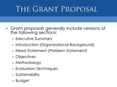 Grant Proposal Template For Non Profit Shatterlion Info Grant Template For Non Profit