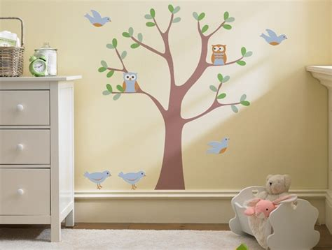 kids room wall decor sweet nature wall decal scene modern nursery decor