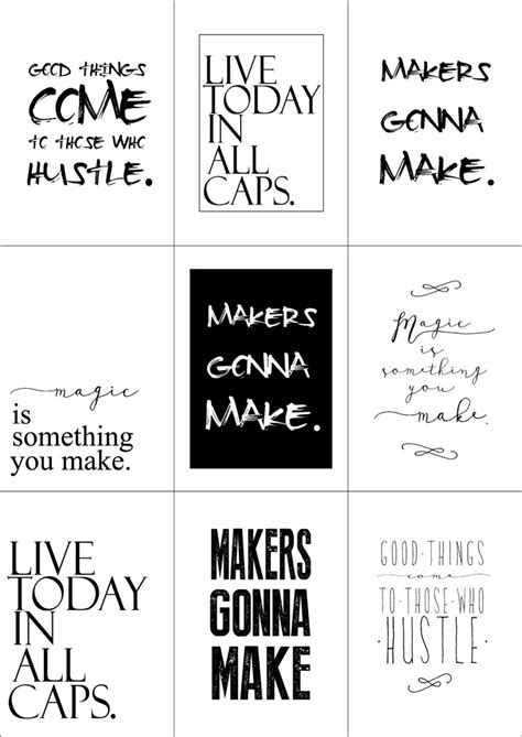 printable art quotes printable black and white quotes quotesgram