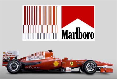 Ferrari Malboro by The Brilliant Team Ferrari Marlboro Logo Modular 4