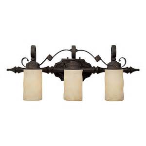 capital lighting rustic iron river crest 3 light bathroom