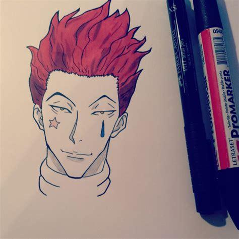 Drawing X by Hisoka Hxh By Leboubou On Deviantart