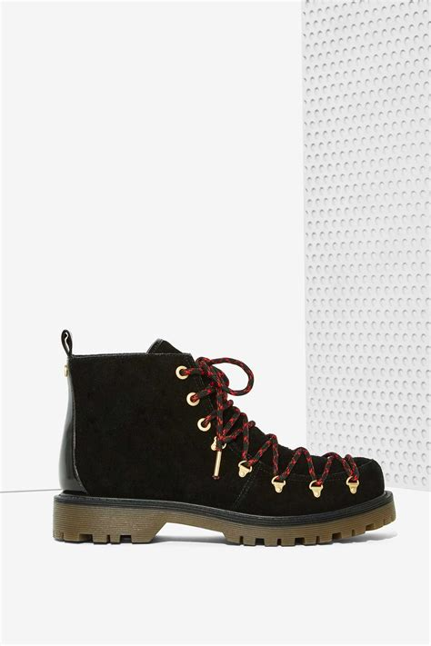 sam edelman circus sneakers circus by sam edelman suede boot in black lyst