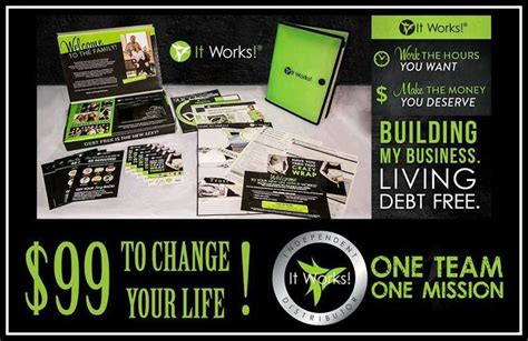 become a distributor it works wraps make income