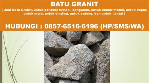 Jual Panggangan Batu Granit 0857 6516 6196 tsel jual batu granit karimun untuk dapur