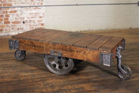 vintage wood cart coffee table coffee table cart coffee table splendid picture design