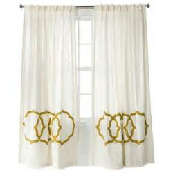 Overstock Curtain Panels White And Gold White And Gold Curtains