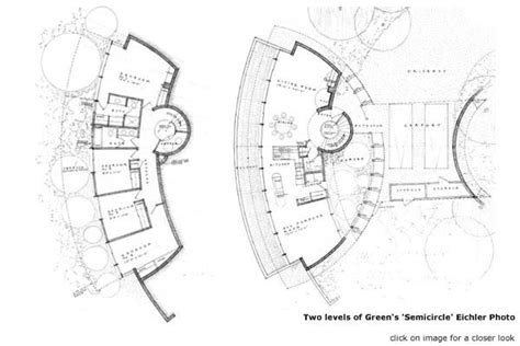 Circle House Plans by Greens Semi Circle Two Floors Architecture