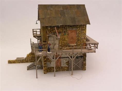 Building A From Scratch by 21 Best Images About Model Railroad Structures On