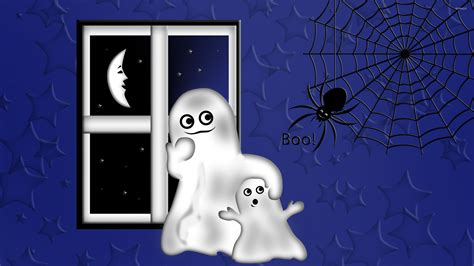 wallpaper cartoon ghost ghosts wallpaper holiday wallpapers 24272