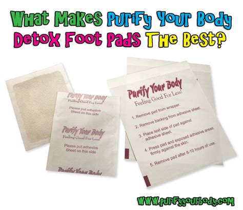 What Is In The Detox Foot Pads by Purify Your Detox Foot Pads What Makes Purify Your