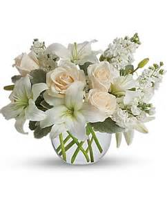 Bereavement Flowers - gallery for gt white roses and lilies
